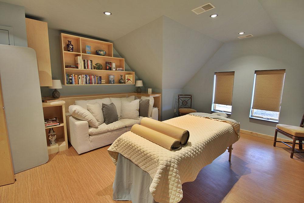 Library - Massage & Private Yoga Room